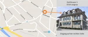 Wegbeschreibung Dorfstrasse 1